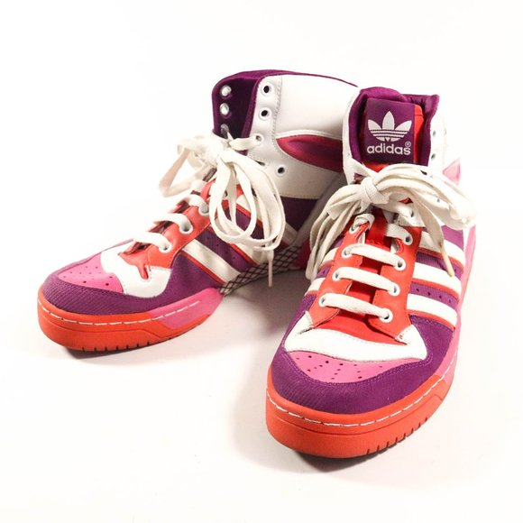 Adidas Shoes | Red Pink Sneakers
